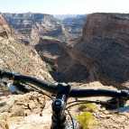 Canyon view from Good Water Rim Trail