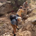 Palisade Rim Trail Construction
