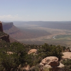 View on Paradox Valley