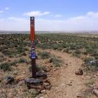 Cedar Mountain Loop trail sign
